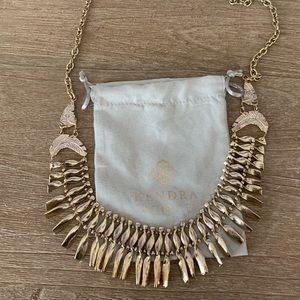 Kendra Scott Adjustable Statement Necklace (Gold)